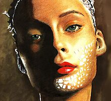 face by lisylight