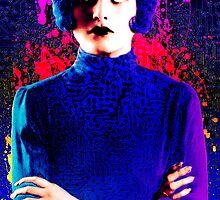 Joan Crawford, The digital Taxi Dancer by sebmcnulty