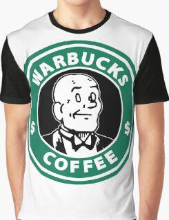 Warbucks Coffee Graphic T-Shirt