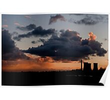 Richborough Cooling Towers Poster