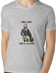 Tis I, Tis I, The Frenchiest Fry Mens V-Neck T-Shirt