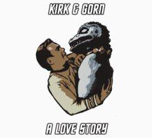 Kirk & Gorn: A Love Story by jonah-vark