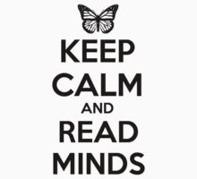 Keep Calm and Read Minds Kids Clothes