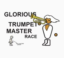 GLORIOUS TRUMPET MASTER RACE One Piece - Short Sleeve