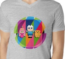 babby adventure times! Mens V-Neck T-Shirt
