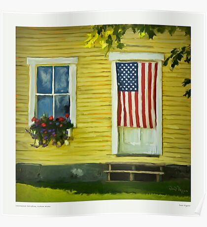 Constrained Patriotism, Cushion Maine Poster