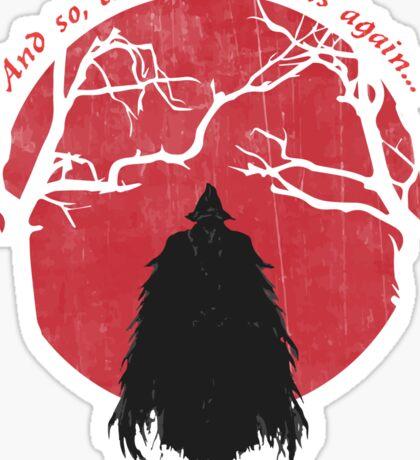 Bloodborne Hunter Sticker