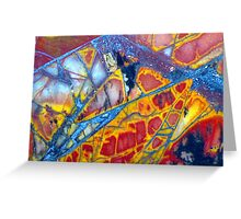 Dragonfly Wing (Cherry Creek Jasper) Greeting Card