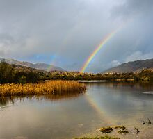 Elterwater Rainbows by photospark