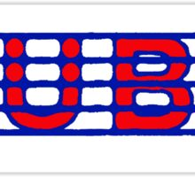 Tuba Red White & Blue II Sticker
