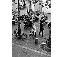 Parisian Girl Photographic Print
