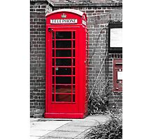 Phonebooth Photographic Print