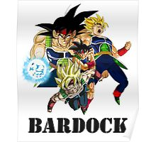Bardock - Dragon Ball Z [with text] Poster