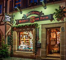 Butcher's shop in Franconia, Germany. by David A. L. Davies
