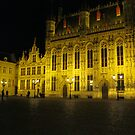 Central Square, Brugge, Belgium by stevenw888