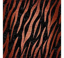 SKN3 BK MARBLE COPPER Photographic Print