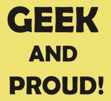 Geek by sammiejayjay