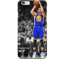 Stephen Curry MVP iPhone Case/Skin
