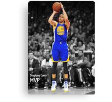 Stephen Curry MVP Canvas Print