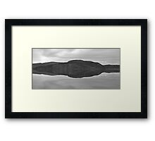 The Mirror Lakes Framed Print