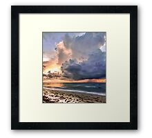Gold Coast Sunrise Framed Print
