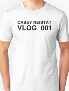CASEY NEISTAT VLOG_001 - Casey Neistat T-Shirt