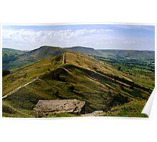 Castleton Ridge to Mam Tor Poster