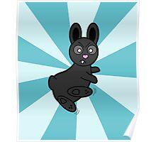Grumpy Bunny Kung Fu Master Poster