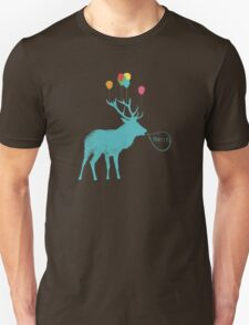 Stag Party (smaller version) Unisex T-Shirt