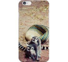 Affectionate Lemurs iPhone Case/Skin