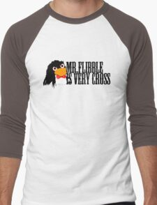 Mr. Flibble is very cross Men's Baseball ¾ T-Shirt