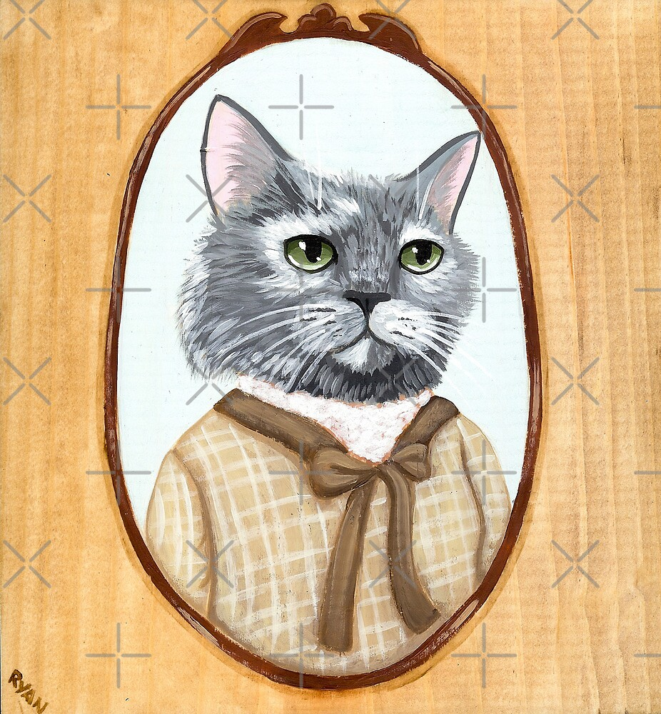 Portrait of Dahlia Cat by Ryan Conners