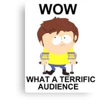 Jimmy - South Park (terrific audience) Canvas Print
