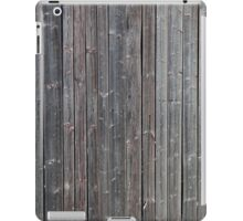 Old worn down barn wall iPad Case/Skin