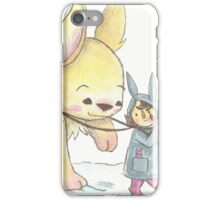 Giant Bunny iPhone Case/Skin
