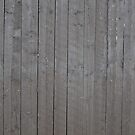 Old gray plank wall by Kristian Tuhkanen