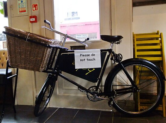 Delivery Bike by AnnDixon