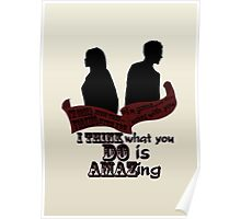Working With You Poster