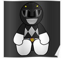Black Power Ranger Pal Poster