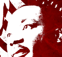 Martin Luther King, Jr. (flag) Sticker