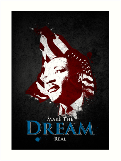 Martin Luther King, Jr. (flag) by Paulo Capdeville