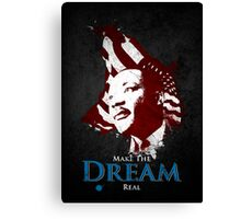 Martin Luther King, Jr. (flag) Canvas Print