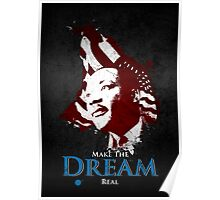 Martin Luther King, Jr. (flag) Poster