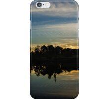 mellow NC sunset iPhone Case/Skin