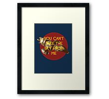 i don't care, i'm still free Framed Print