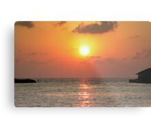 Intense sunset Metal Print