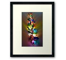 The Bottle Sculpture Framed Print