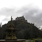 Edinburgh Castle & Gardens by Aaron McKenzie