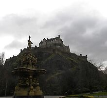 Edinburgh Castle & Gardens by Aaron McKenzie