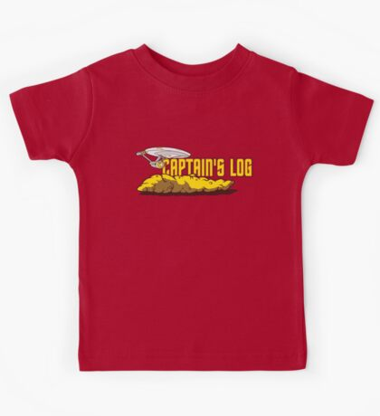 Captain's Log Kids Tee